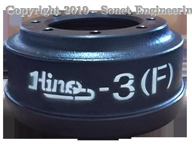 Hino 173 Front