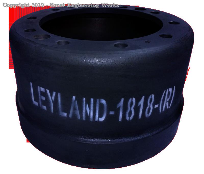 Leyland 1818 Rear