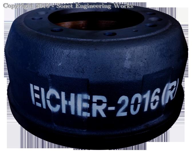 Eicher 2016 Rear