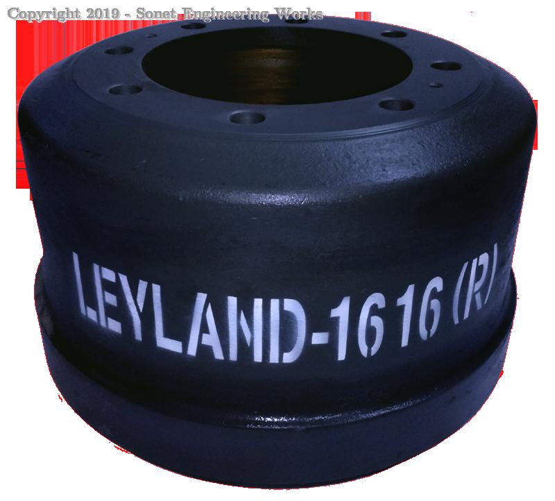 Leyland 1616 Rear