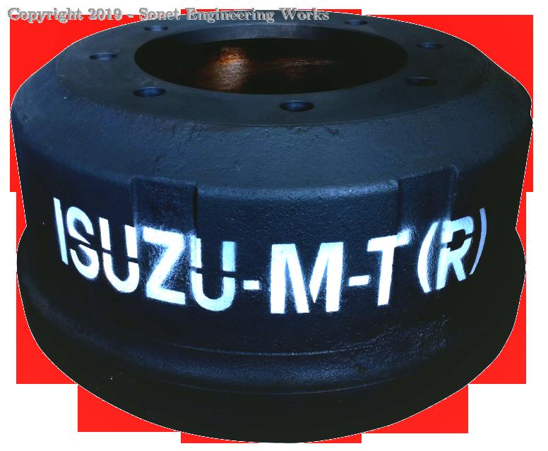 Isuzu MT Rear